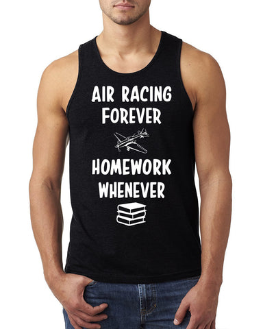 Air racing forever homework whenever Tank Top