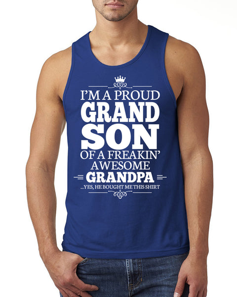 I'm a proudgrandson of a freakin' awesome grandpa Tank Top