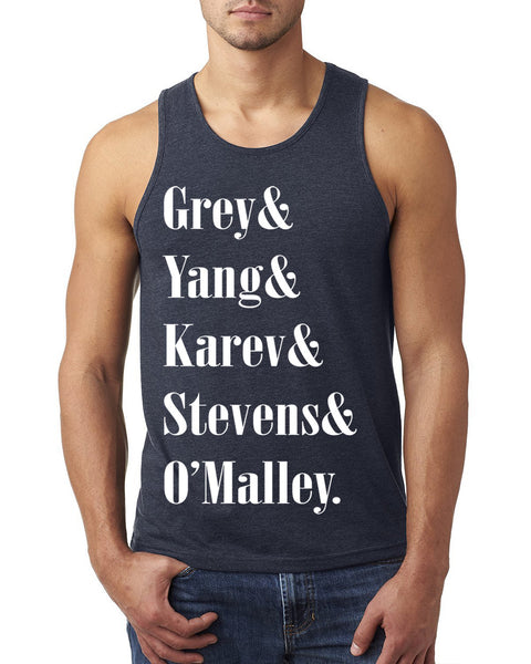 Grey, Yang, Karev, Stevens and O'malley Tank Top