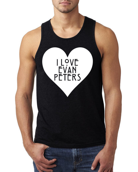 I love evan peters Tank Top