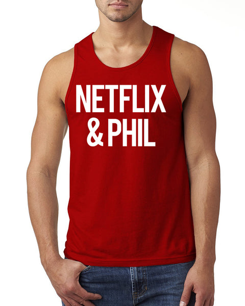 Netflix and phil Tank Top