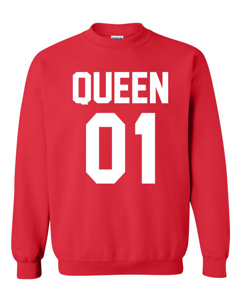 Queen Crewneck Sweatshirt
