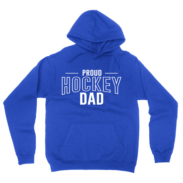 Proud hockey dad hockey team squad game day sport dad love hockey Father's day hoodie