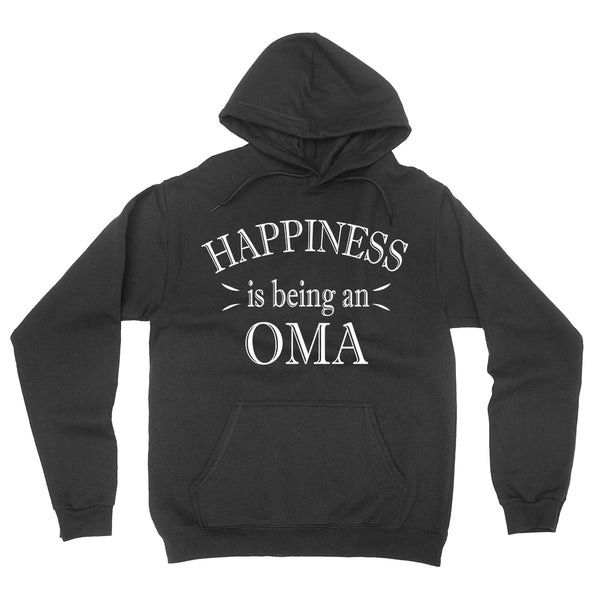 Happiness is being an oma hoodie  birthday mother's day gift ideas for her grandparents