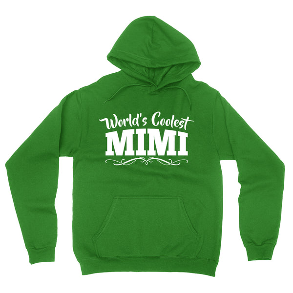 World's coolest mimi Mother's day birthday gift ideas for new grandma proud grandmom gifts for her hoodie