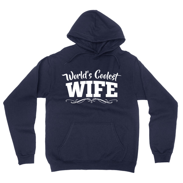 World's coolest wife birthday anniversary gift ideas for her wedding gift couple just married hoodie