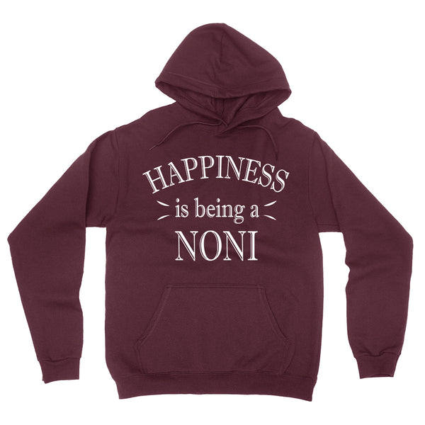 Happiness is being a noni hoodie birthday mother's day gift ideas for her grandparents
