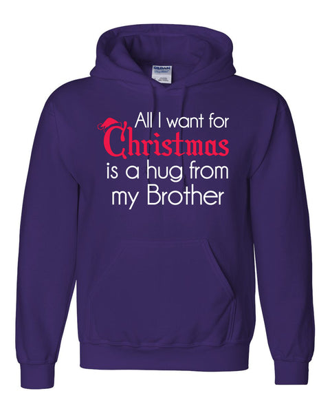 All I want for Christmas is a hug from my brother Hoodie