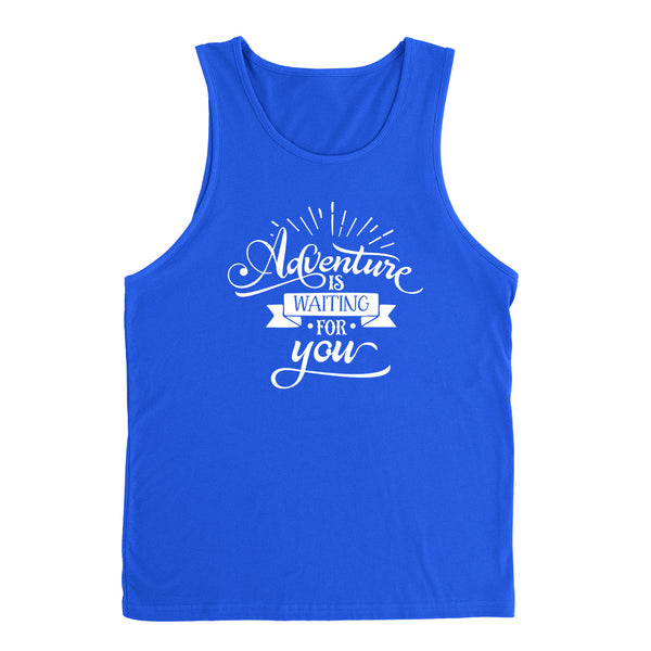 Adventure is waiting for you  funny cool cute fashion graphic  Tank Top
