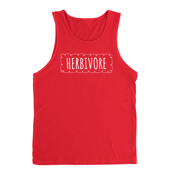 Herbivore, cute funny cool humor vegan, gifts for vegan, birthday holiday Christmas  Tank Top