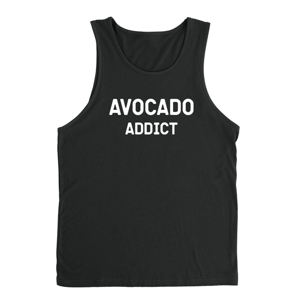 Avocado addict avocado lover gift vegetarian vegan funny graphic Tank Top