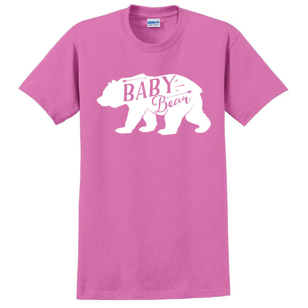 Baby bear t shirt bear tees for him birthday gift idea unisex adult tee