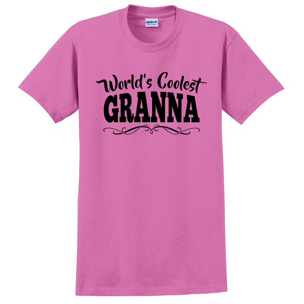 World's coolest granna Mother's day birthday gift ideas for new grandma proud grandmom gifts for her T Shirt