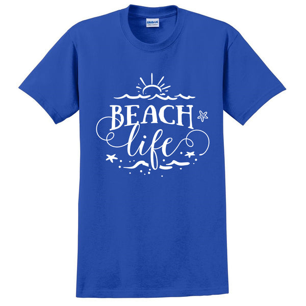 Beach life t shirt surfing surfer tee for her for him birthday gift shirts