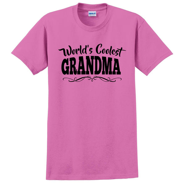 World's coolest grandma Mother's day birthday gift ideas for new grandma proud grandmom gifts for her T Shirt