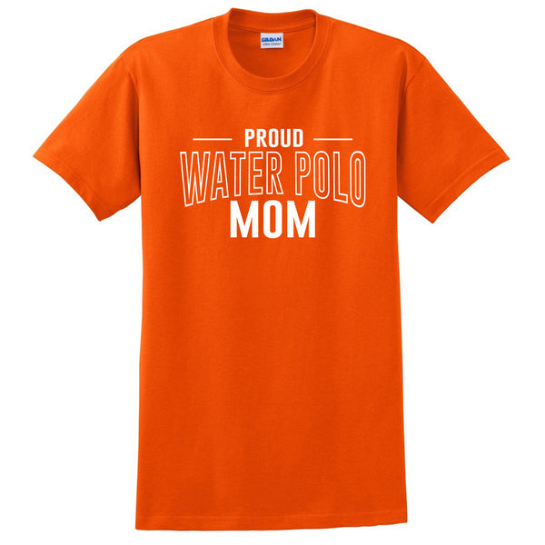 Proud water polo mom team squad game day sport mom love water polo Mother's day T Shirt