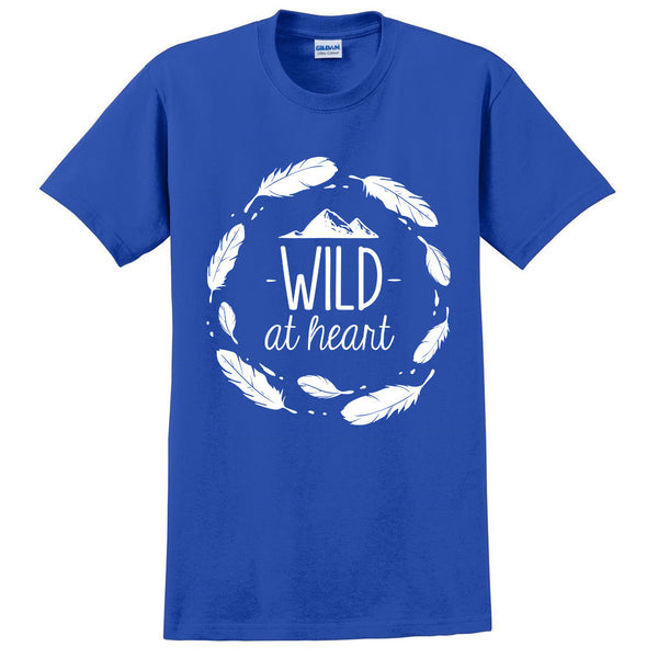 Wild at heart t shirt