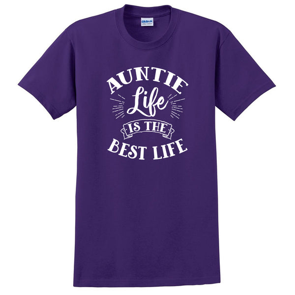 Auntie life is the best life aunt squad auntie team best aunt cute T Shirt