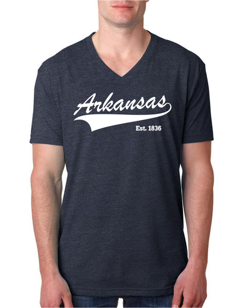 Arkansas V Neck T Shirt