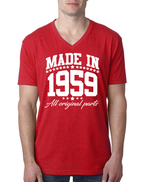 Made in 1959 all original parts V Neck T Shirt