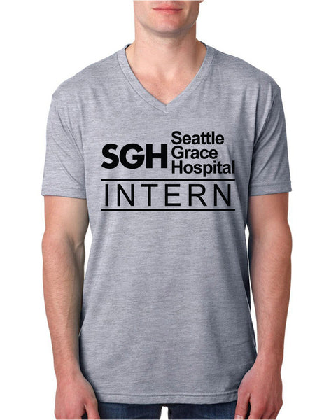 SGH intern V Neck T Shirt