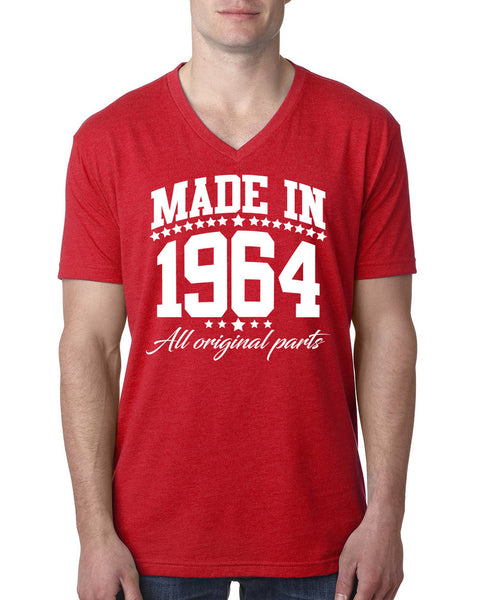 Made in 1964 all original parts V Neck T Shirt