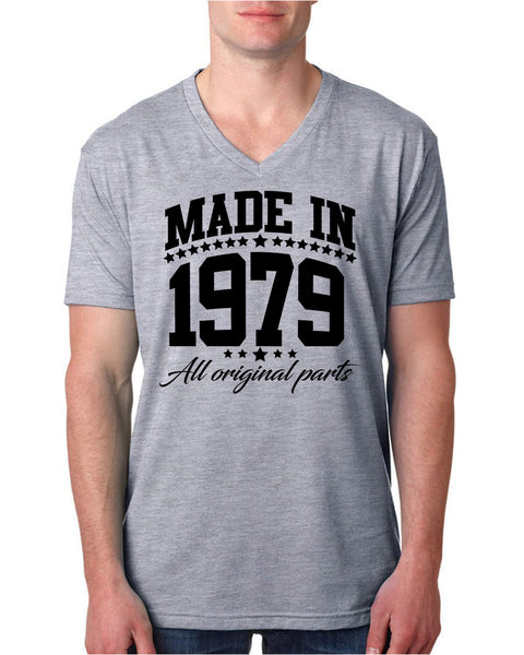 Made in 1979 all original parts V Neck T Shirt