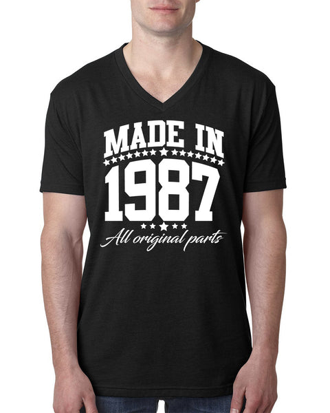 Made in 1987 all original parts V Neck T Shirt