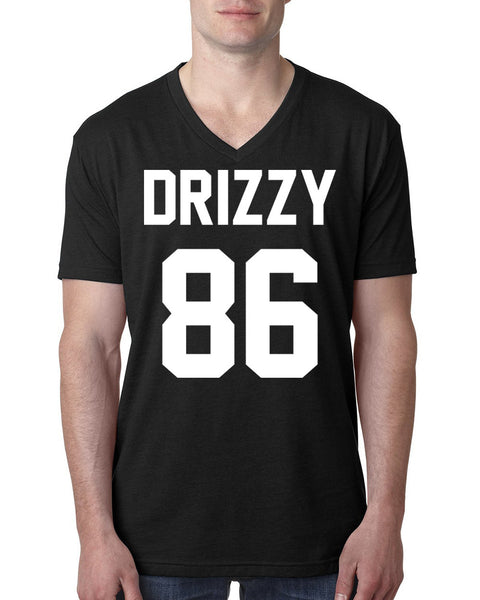 Drizzy 86 V Neck T Shirt