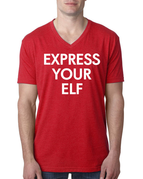 Express yourself V Neck T Shirt