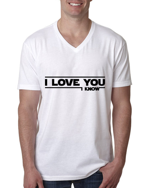 I love you, i know V Neck T Shirt