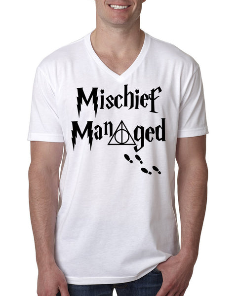Mischief managed V Neck T Shirt