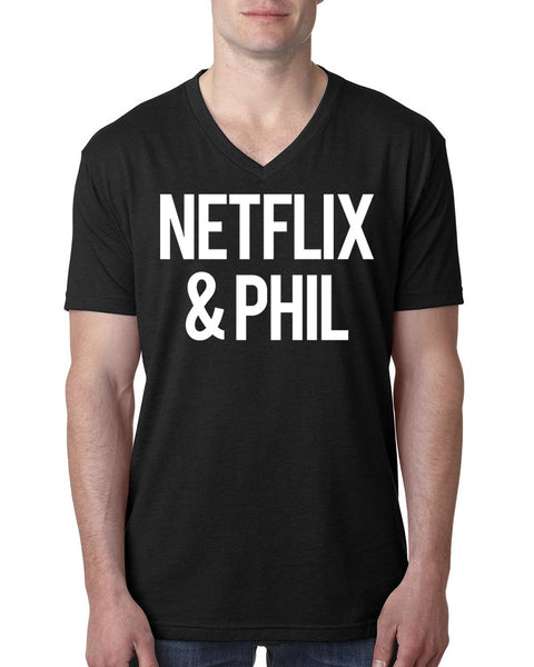 Netflix and phil V Neck T Shirt