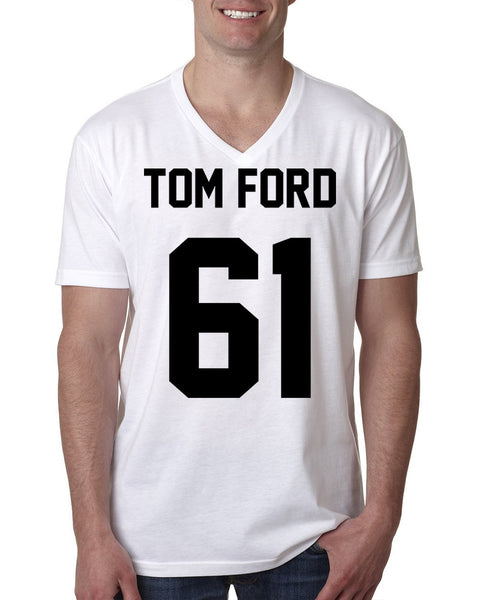 Tom Ford 61 V Neck T Shirt