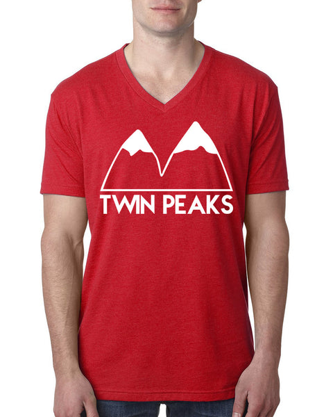 Twin peaks V Neck T Shirt