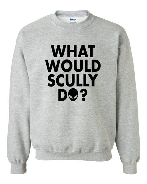 What would scully do Crewneck Sweatshirt