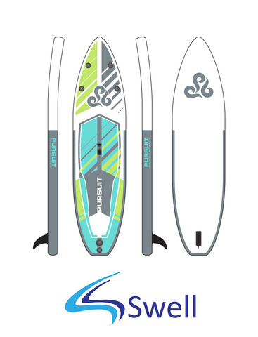 Pipeline Swell 11Zero Standup Paddle Board - Paddle Board City