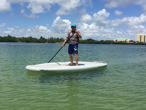 SATURN 11 ft XL MotoSUP Inflatable Paddle Board MotoSUP330XL - Paddle Board City