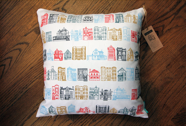 Chicago: Lakeview pillow
