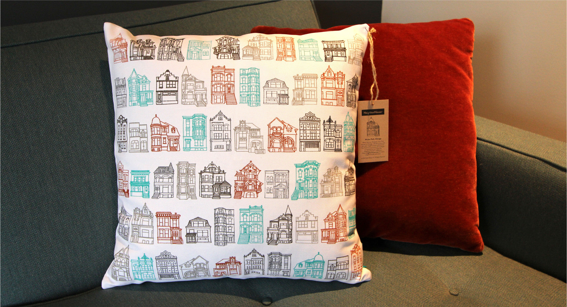 Wicker Park Pillow