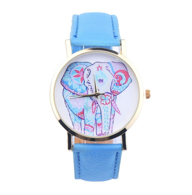 Paisley Elephant Watch