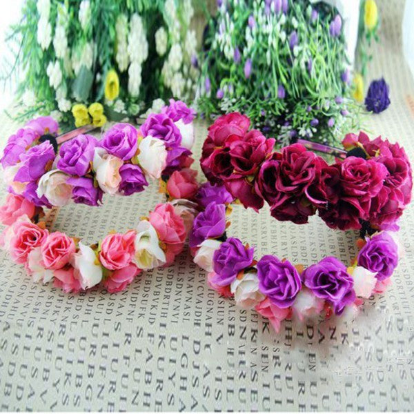 Multi Colored Flower Crowns