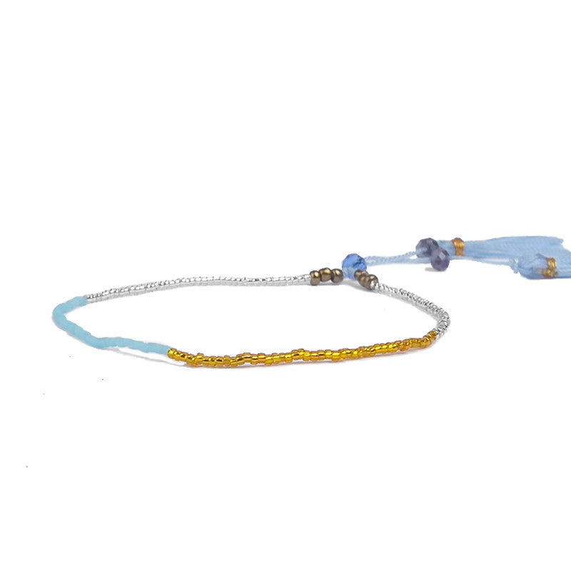 Multi-Colored Tassel Bracelets