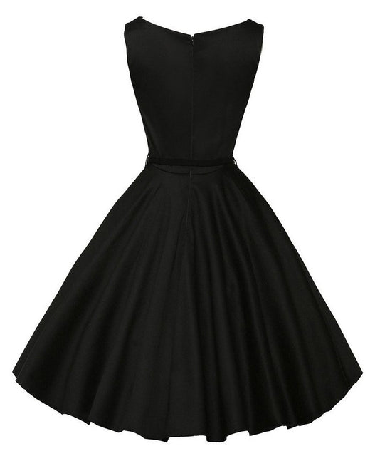 1950s style cocktail dress