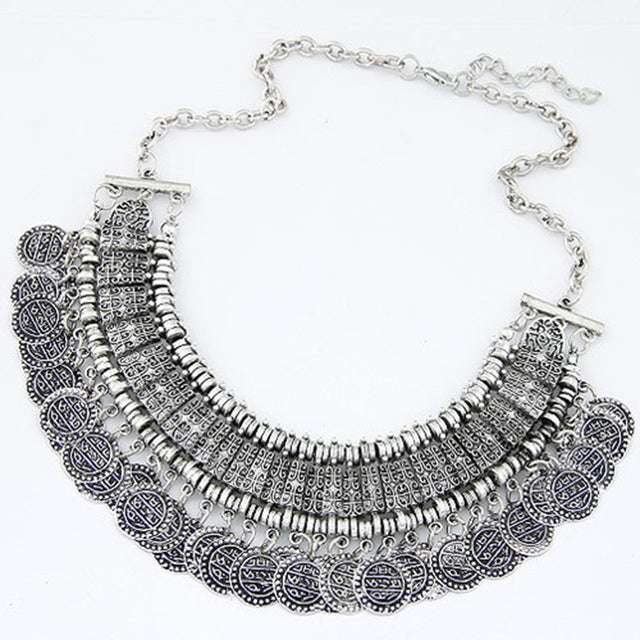 Bohemian Coin Necklace