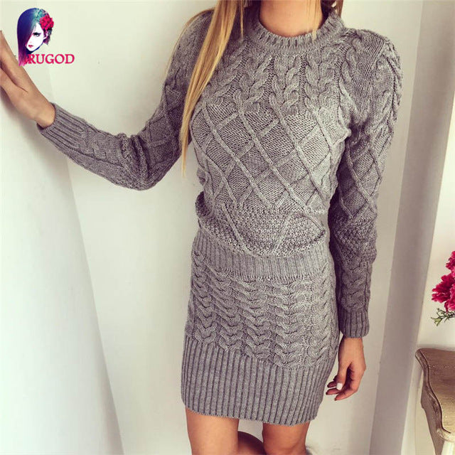 Diamond Knit Dress