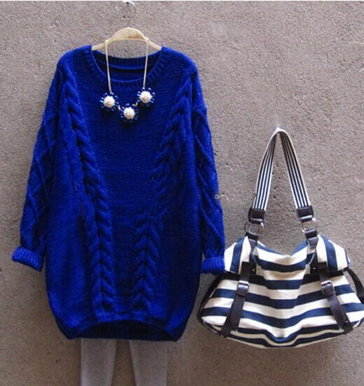 V-Rope Knit Sweater
