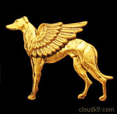 Dog Guardian Angel Pin Jewelry