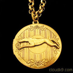 Dog Locket Necklaces. Pet Animal Lockets