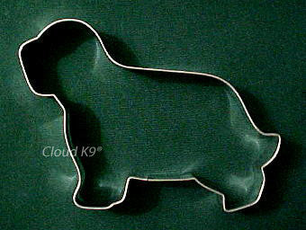 Bearded Collie Cookie Cutter